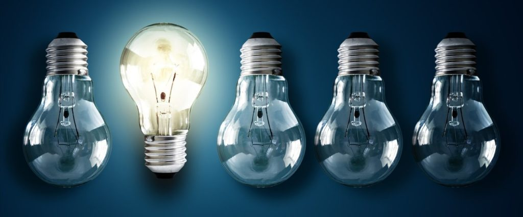 Illuminated light bulb grant funding competitions July 2018